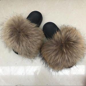Shoes - Fur slides / sandals